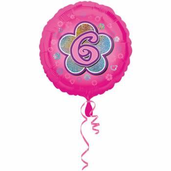 Ballon rose 6 ans