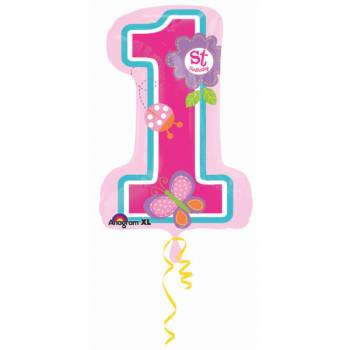 Ballon géant hélium Sweet girl 1an