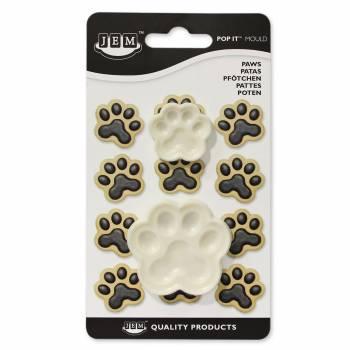 2 Emporte pièces Pattes de chien