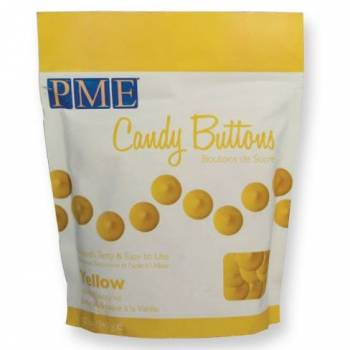Candy buttons PME jaune