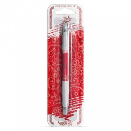 Le stylo alimentaire à double mine Food Art Pen de Rainbow Dust comprend un feutre de 0,5mm sur une extrémité et un feutre de...