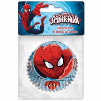 60 caissettes Spiderman