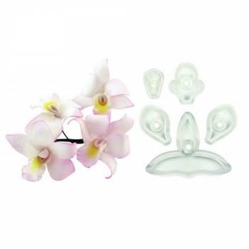 Set 5 emporte pièces JEM Orchidée