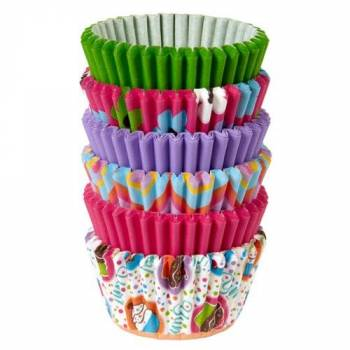 150 mini caissettes WILTON Pinks Multi