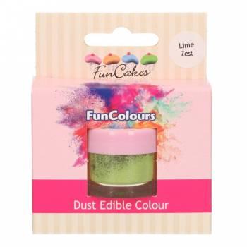 Colorant en poudre Funcakes vert lime