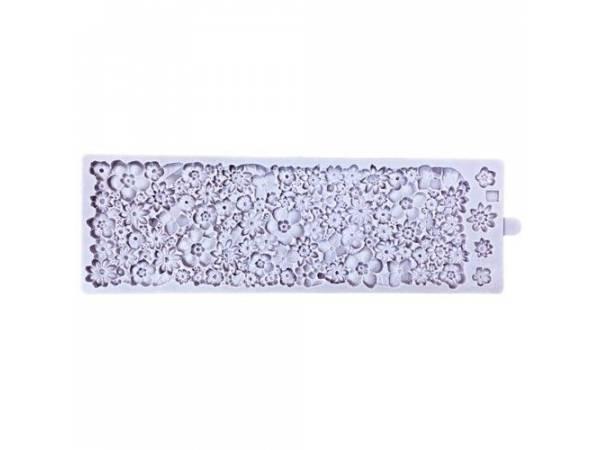 Moule modelage Karen Davies texture tapis floral