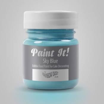 Peinture alimentaire Paint it Bleu ciel