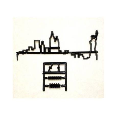 Découpe/empreinte en plastique au formes de New York Dimensions : 14 cm x 4 cm