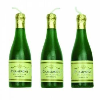 6 Bougies champagne