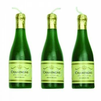 6 Bougies champagne