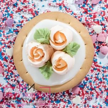 Douille Sugar crumbs Petal rose n° 7