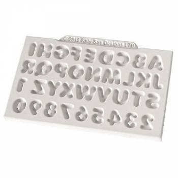 Moule modelage Katy Sue alphabet et chiffre
