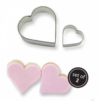 Kit de 2 emporte pièces coeur