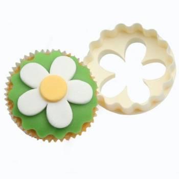 Emporte-pièce à cupcakes fleur