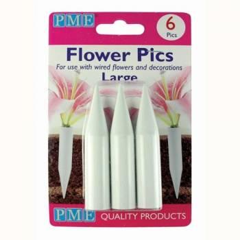6 Pics large pour fleurs PME