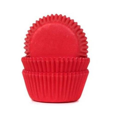 60 mini caissettes à cupcakes unies rougeØ 3.5cm x 2.25 cm de haut Les caissettes sont prévues pour la cuisson Disposez les dans les...