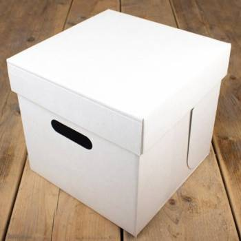 Cakebox blanche 25cm