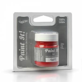 Peinture alimentaire Paint it rouge