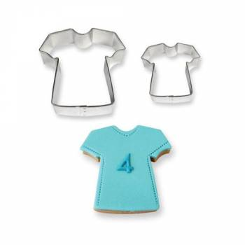 Set 2 emporte pièces T shirt