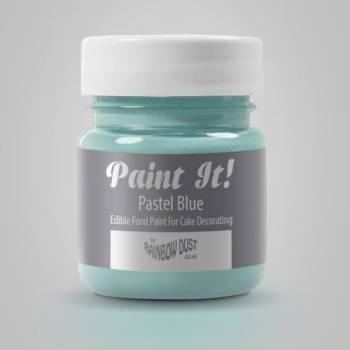 Peinture alimentaire Paint it bleu pastel