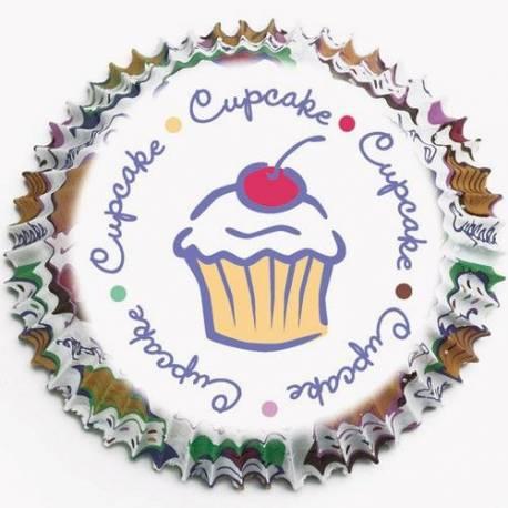 Sachet de 75 Caissettes à cupcakes ou muffins Wilton