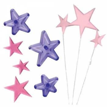 kit 3 emporte pièces étoile JEM