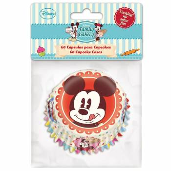 60 Caissettes Mickey Mouse