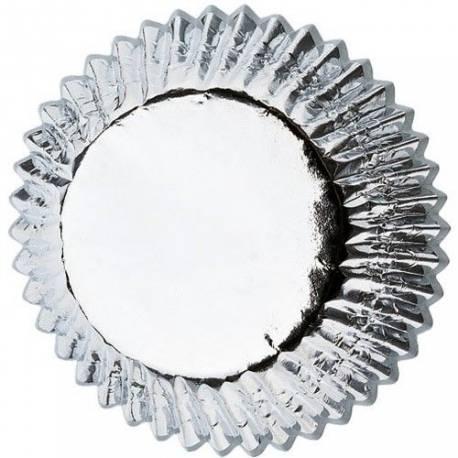 Ces moules en papier recouverts d'une feuille en aluminium argentée donnent une touche festive à vos cupcakes.Diamètre standard:...