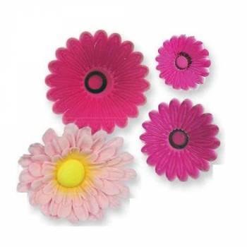 kit 3 emporte pièces fleurs Gerbera