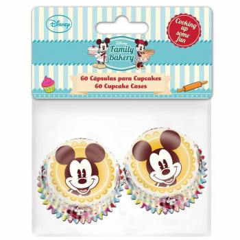 60 Mini caissettes Mickey