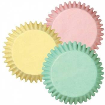 75 Caissettes à cupcakes Pastel