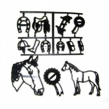 Découpe/empreinte Equitation