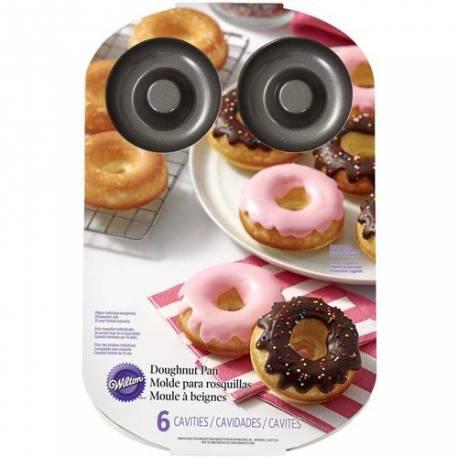 Préparez la pâtisserie préférée de Homer Simpsons ! Moule de 6 cavitées anti adhésif  La plaque fait au total 21 cm x 32 cmLe diamètre...
