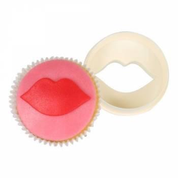 Emporte-pièce à cupcakes bouche