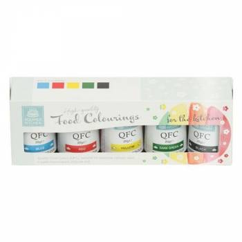 Assortiment 5 colorants gel Squire Kitchen n°1