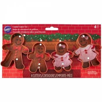4 Emporte pièces Ptit biscuit Noël Wilton