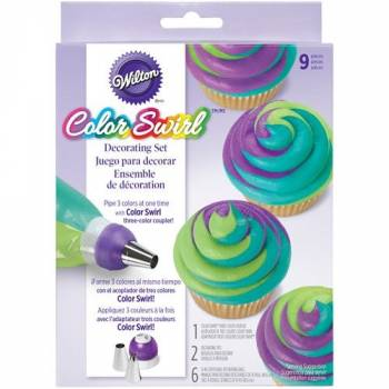 Kit Color Swirl Wilton