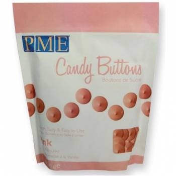 Candy buttons PME rose