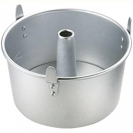 Ce moule haut et rond à cheminée à un diamètre de 17,5cm sur une hauteur de 11cm Il est recommandé de laver ce moule à la main et non...