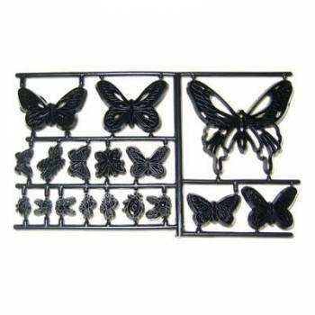 16 emporte pièce Patchwork Papillons