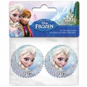 60 Mini caissettes La Reine des Neiges