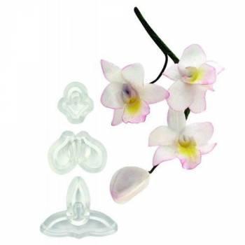 Set 3 emporte pièces JEM Orchidée