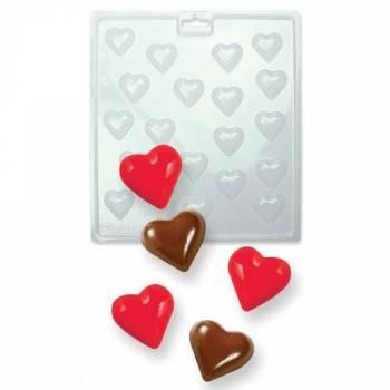 Moule à chocolat PME coeur