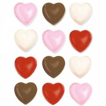 Moule à chocolat Wilton Coeur