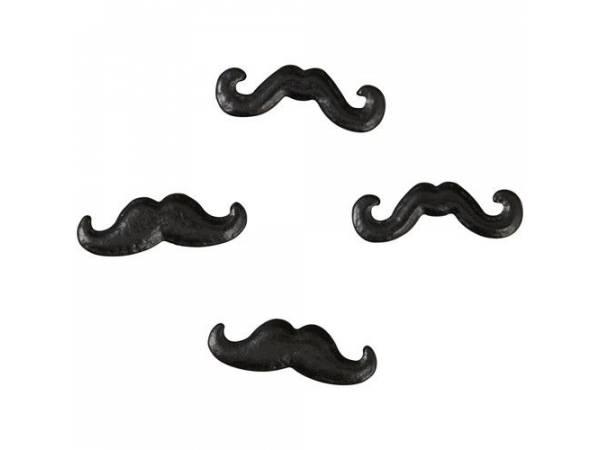 Mini candy moustache Wilton