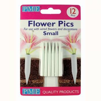 12 Pics small pour fleurs PME