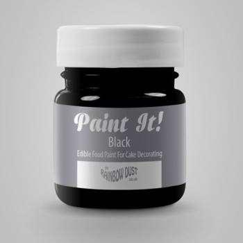 Peinture alimentaire Paint it noire