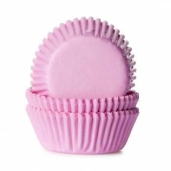 60 Mini caissettes cupcakes rose