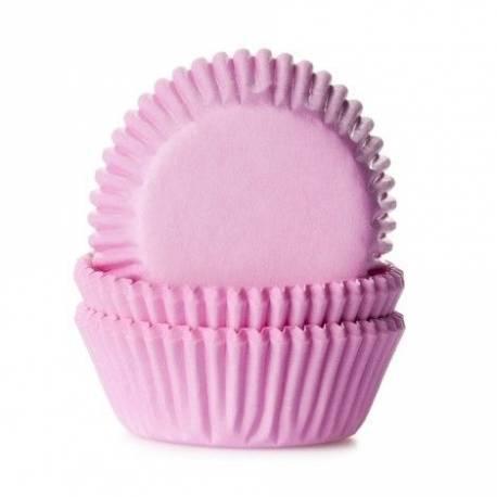 50 mini caissettes à cupcakes unies roseØ 3.5cm x 2.25 cm de haut Les caissettes sont prévues pour la cuisson Disposez les dans les...