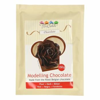 Pâte à modelage chocolat noir 150 gr